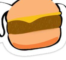 Flying Burgers Sticker