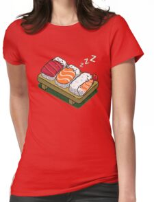 Sushi Womens Fitted T-Shirt