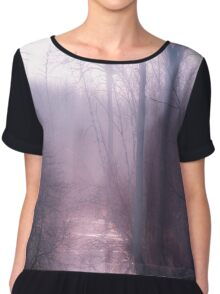 Leave Me Lonely  Chiffon Top