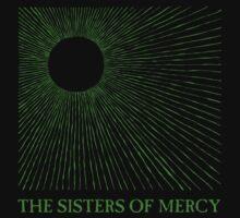 The Sisters Of Mercy - Temple of Love (1983 Single Design) by James Ferguson - Darkinc1