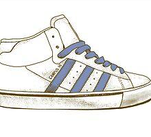 Adidas Sneaker by TheBlackGarden