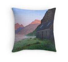 Glen Pean At Dawn Throw Pillow