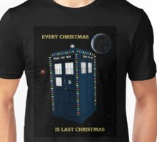 Every Christmas Is Last Christmas Doctor Who Unisex T-Shirt