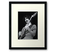Frank Zappa - Sydney Hordern Pavillion - 1973 Framed Print