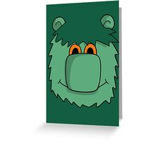 MUZZY Greeting Card