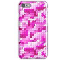 Pixel City - Pink iPhone Case/Skin
