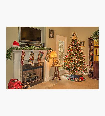 Home For Christmas Photographic Print