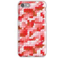 Pixel City - Red iPhone Case/Skin