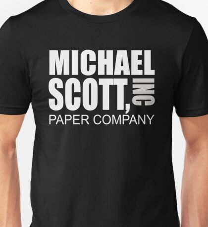 Michael Scott Paper Company - The Office Unisex T-Shirt