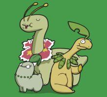 Leafy Dino's Kids Tee