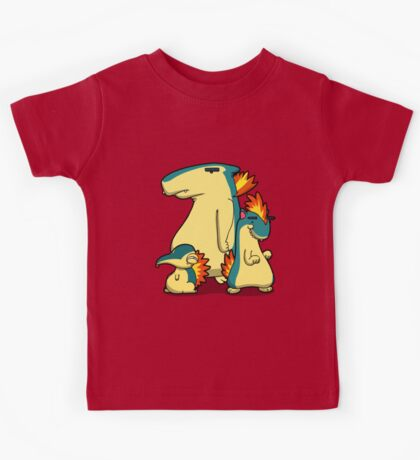 Three Flaming Weasels Kids Tee