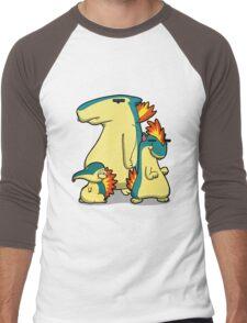 Three Flaming Weasels Men's Baseball ¾ T-Shirt
