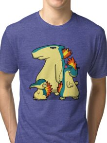 Three Flaming Weasels Tri-blend T-Shirt