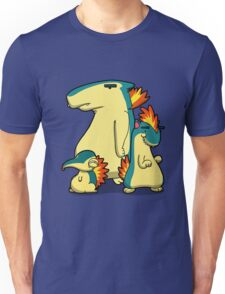 Three Flaming Weasels Unisex T-Shirt
