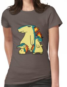 Three Flaming Weasels Womens Fitted T-Shirt