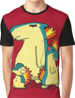 Three Flaming Weasels Graphic T-Shirt