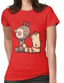 Chubby Ferrets Womens Fitted T-Shirt