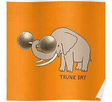 Trunk Day Poster