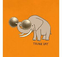 Trunk Day Photographic Print