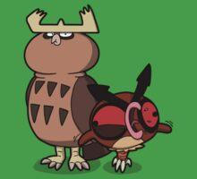 Owl mess you up! Baby Tee