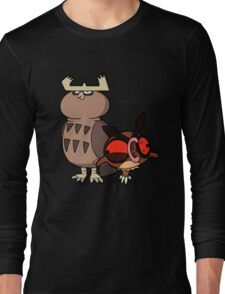 Owl mess you up! Long Sleeve T-Shirt