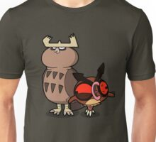 Owl mess you up! Unisex T-Shirt