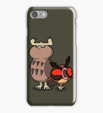 Owl mess you up! iPhone Case/Skin