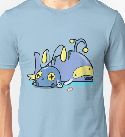 Chubby whales Unisex T-Shirt