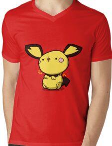 Little 1 volt Mens V-Neck T-Shirt