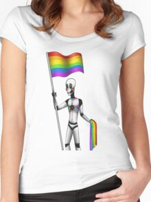 Transpride Women's Fitted Scoop T-Shirt