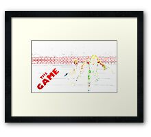 escape - the game Framed Print