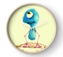 Fluffy Alien Clock