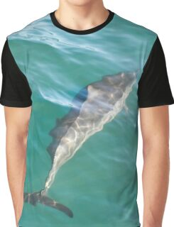 dolphin swimming  Graphic T-Shirt