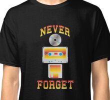Never Forget - Old School Tech T-Shirt Classic T-Shirt