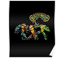 Battletoads 90's Video Game Cool Nintendo Poster