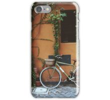 Bicycle in Rome iPhone Case/Skin