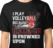 Funny Volleyball Player Flyball Player Gift Idea Classic T-Shirt
