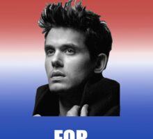 John For Mayer Sticker