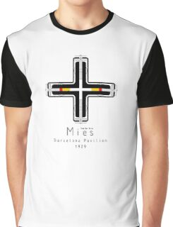 ICONIC ARCHITECTS-MIES VAN DER ROHE Graphic T-Shirt