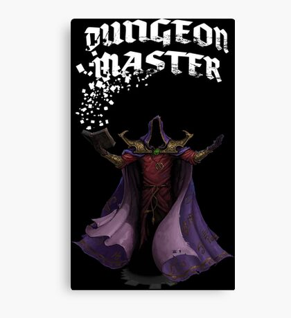 Dungeon Master Canvas Print