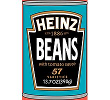 Retro Heinz Baked Beans Can PopArt Photographic Print