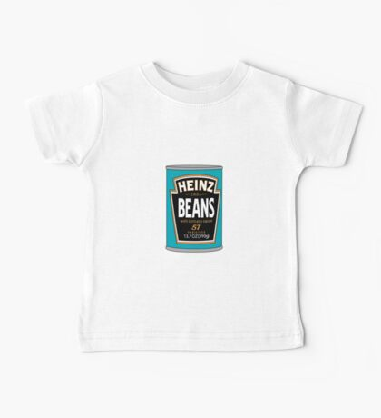 Retro Heinz Baked Beans Can PopArt Baby Tee