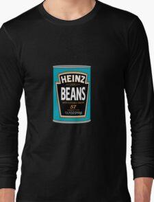 Retro Heinz Baked Beans Can PopArt Long Sleeve T-Shirt