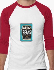 Retro Heinz Baked Beans Can PopArt Men's Baseball ¾ T-Shirt