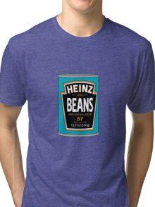 Retro Heinz Baked Beans Can PopArt Tri-blend T-Shirt