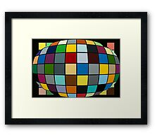 The Bubble of OZ Framed Print
