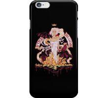 The Unburnt (Red) iPhone Case/Skin
