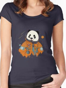 Pandastronaut Women's Fitted Scoop T-Shirt