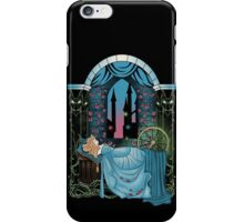 The Sleeping Rose - Blue Dress iPhone Case/Skin