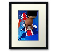 Britain under the Thumb Framed Print